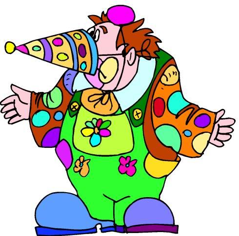 Clowns clip art - Clowns Clipart