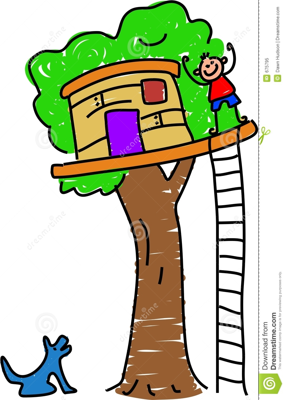 Clubhouse 20clipart Clipart P - Tree House Clip Art