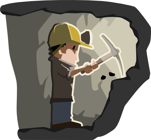 Coal Miner Clip Art At Clker Com Vector Clip Art Online Royalty