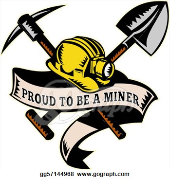 Coal Miner Hardhat Shovel Clipart Panda Free Clipart Images