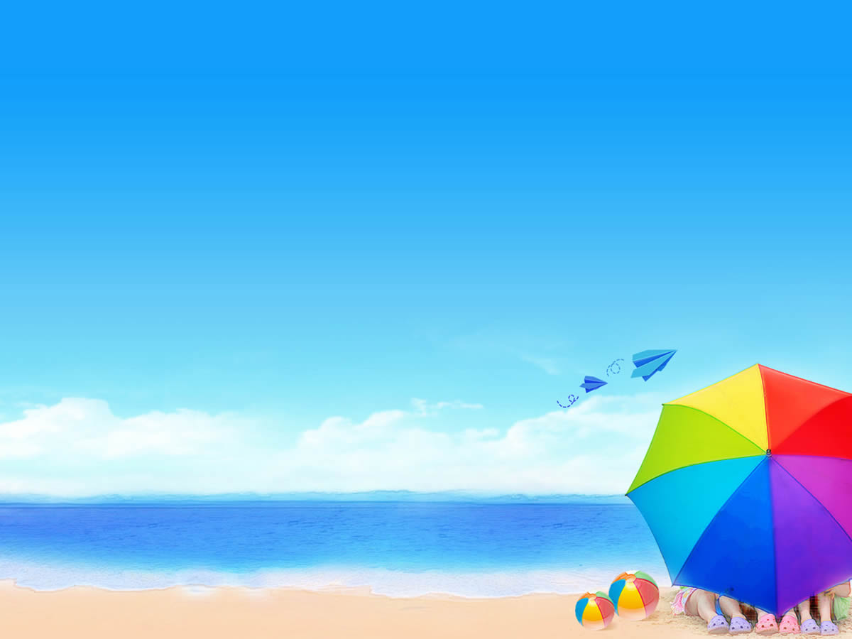 Coastal Beach Ppt Backgrounds Template F-Coastal Beach Ppt Backgrounds Template For Presentation Ppt-13