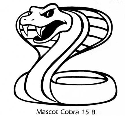 Cobra Mascot Clipart-Cobra Mascot Clipart-10