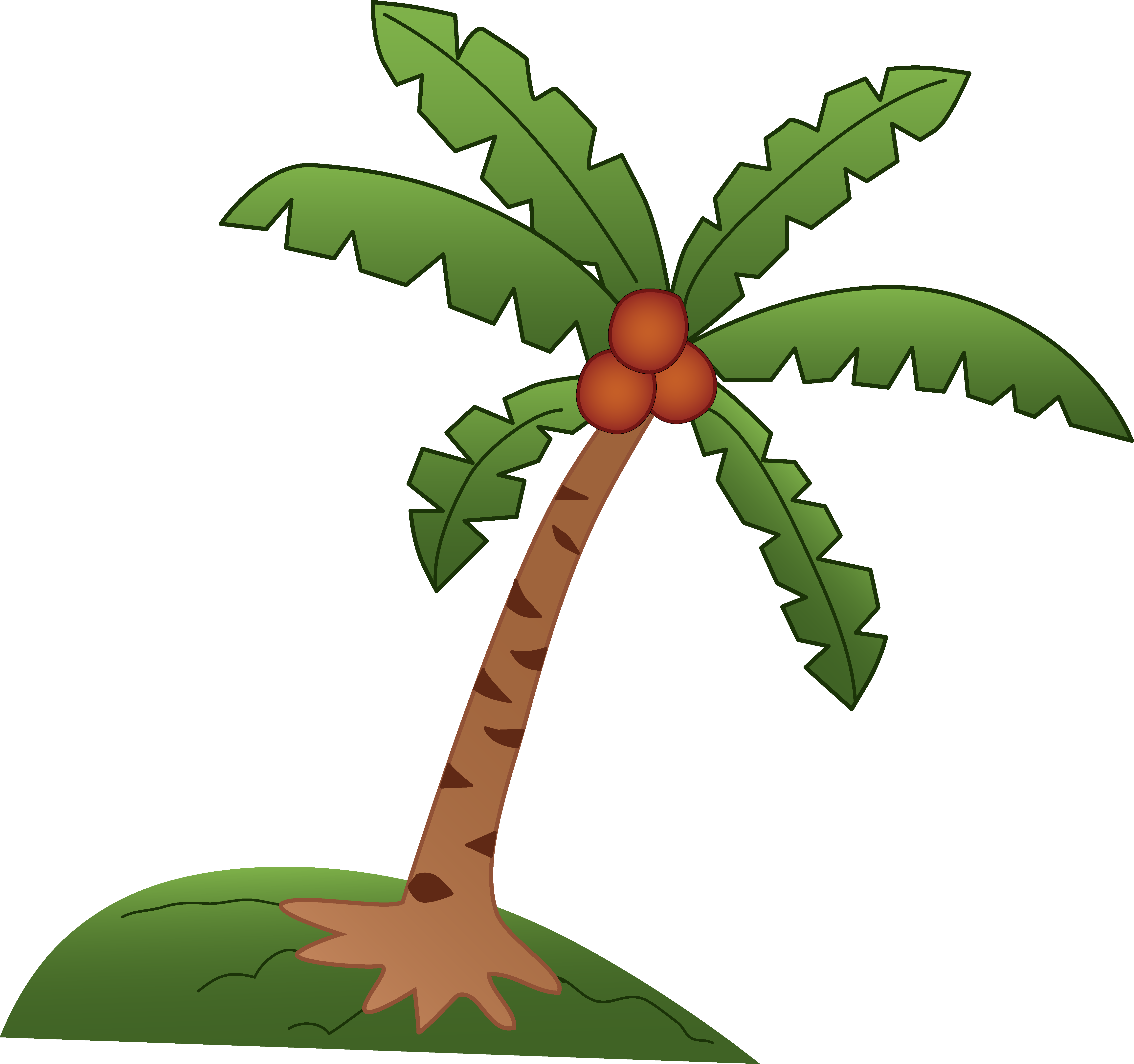 Palm Tree Clipart Image Tropi