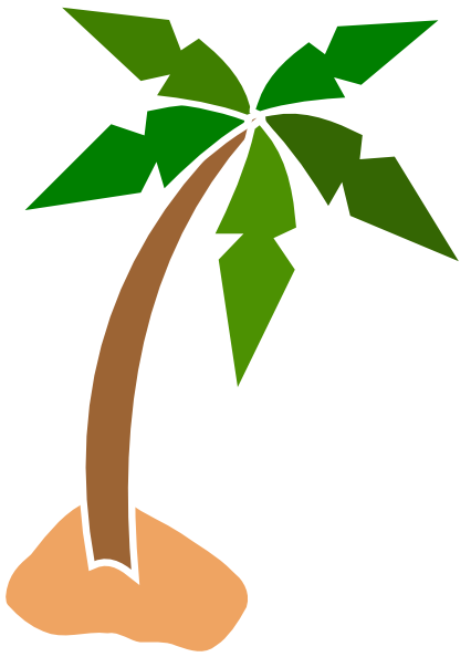 Coconut Tree Clip Art - Clipa - Coconut Tree Clipart