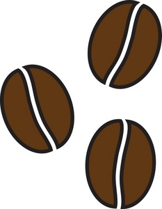 coffee bean bag clipart
