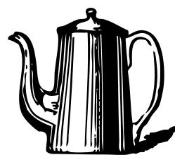 coffee pot clipart - Coffee Pot Clipart