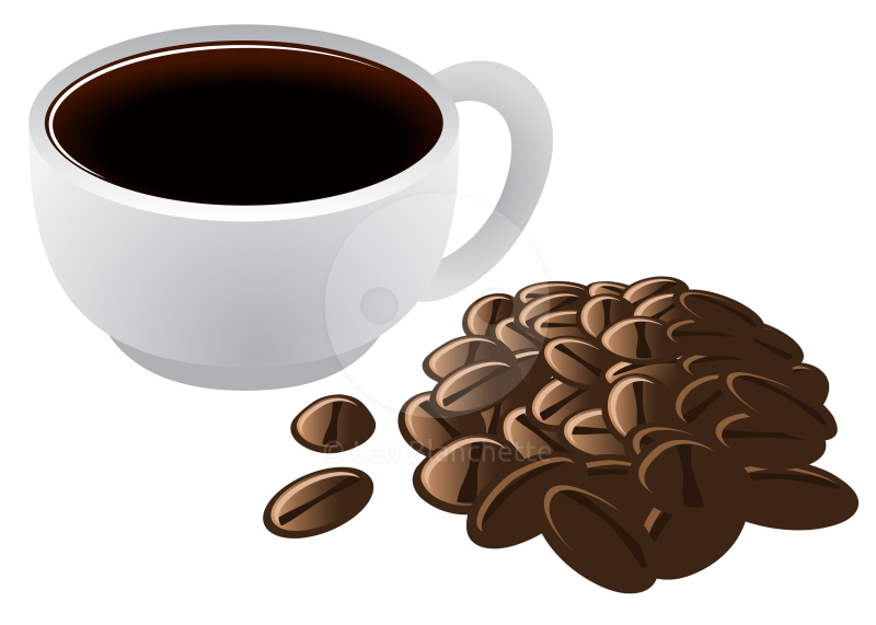 Coffee bean clip art drink clipart 2