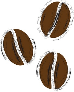 Coffee Beans Clipart Image: .-Coffee Beans Clipart Image: .-9