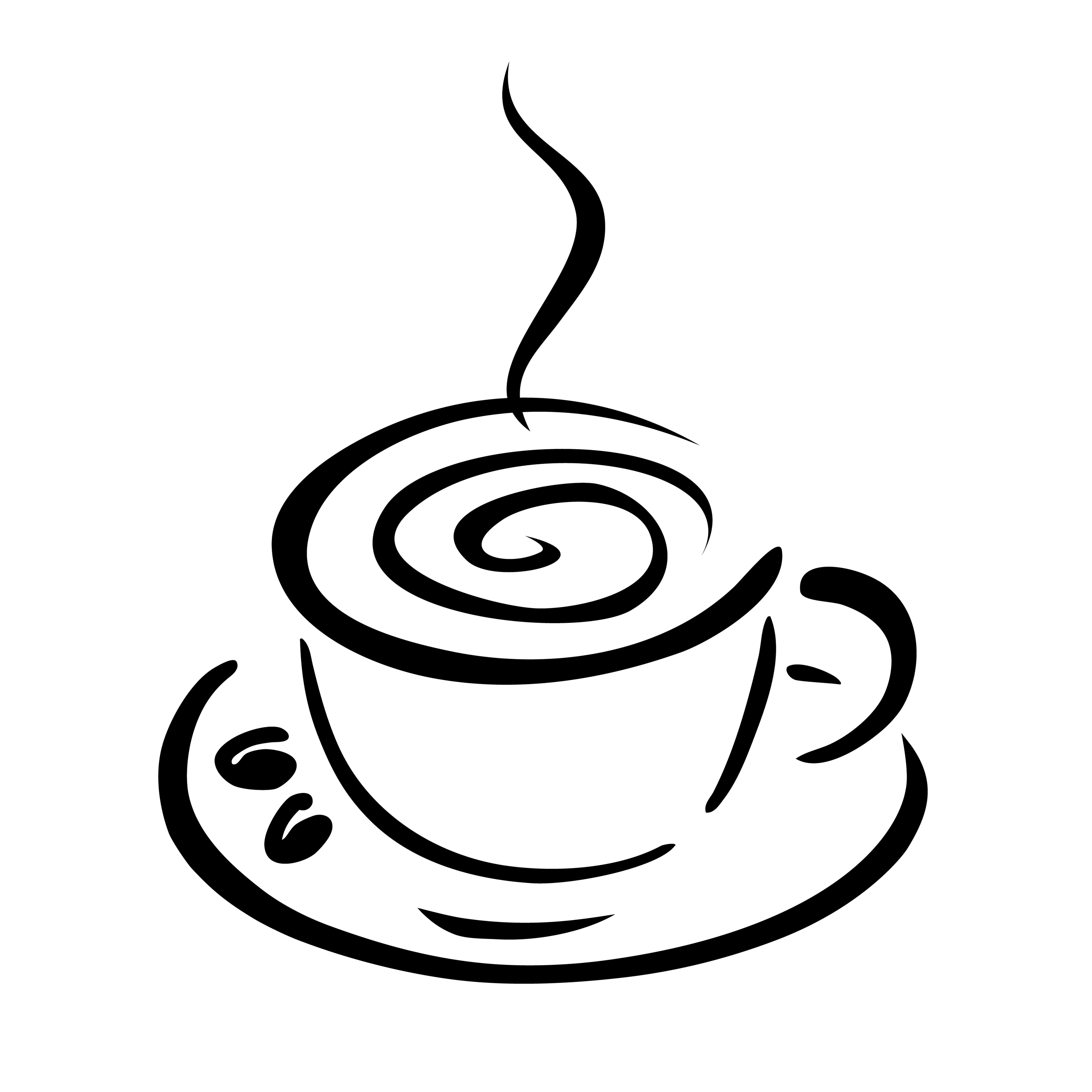 Coffee Cup Clip Art Black .-Coffee Cup Clip Art Black .-5