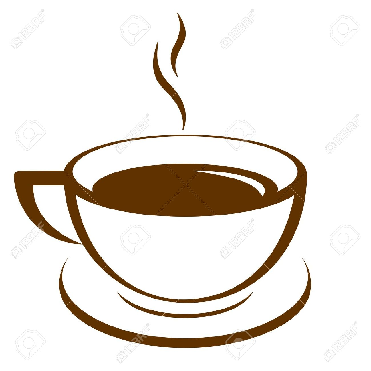 coffee cup: Vector icon of .