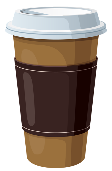 Coffee in Plastic Cup PNG Cli - Clipart Coffee Cup