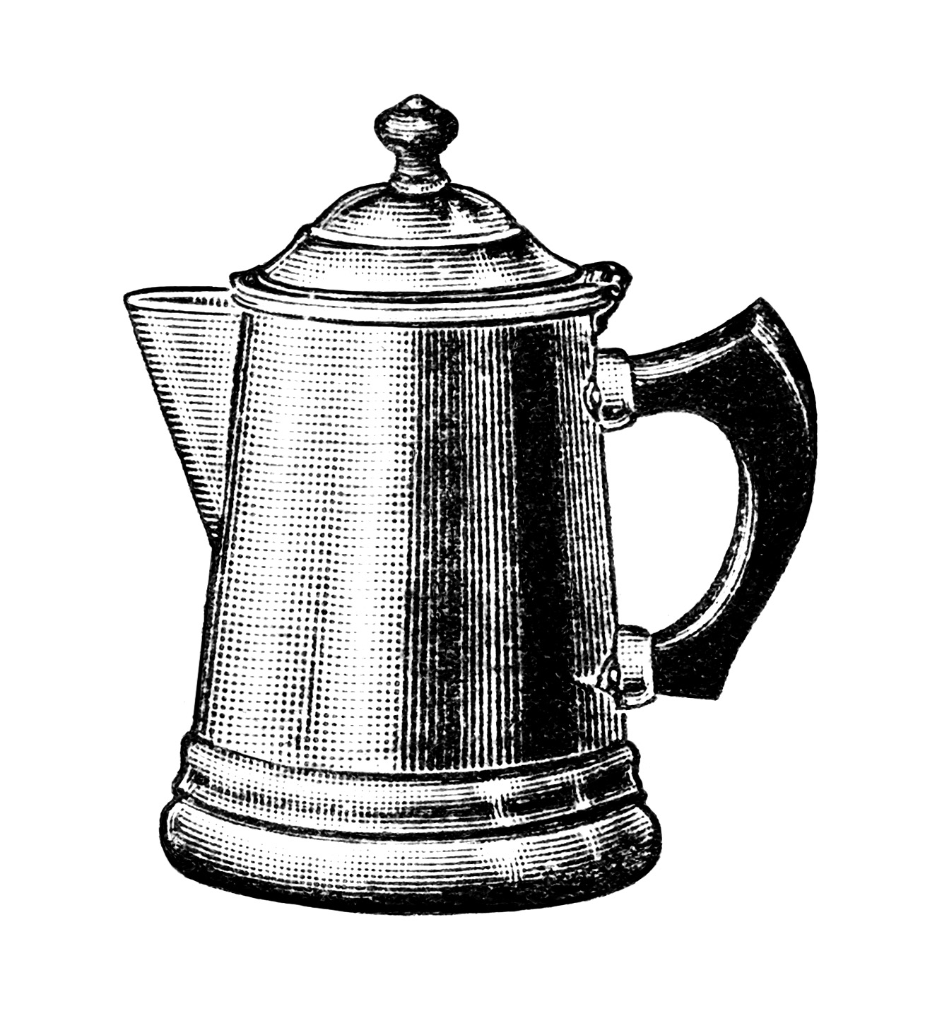 Coffee Pot Clipart Old Fashio - Coffee Pot Clipart