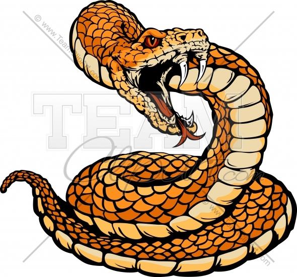 Coiled Rattlesnake Clipart #1-Coiled Rattlesnake Clipart #1-1