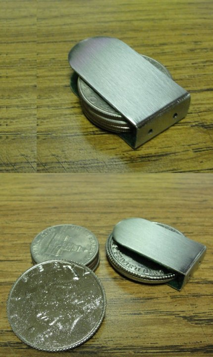 Coin Clip Stainless Steel-Coin Clip stainless steel-11