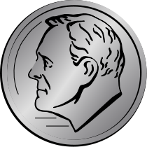 Coin Us Dime Http Www Wpclipart Com Money Coins Coin Us Dime Png