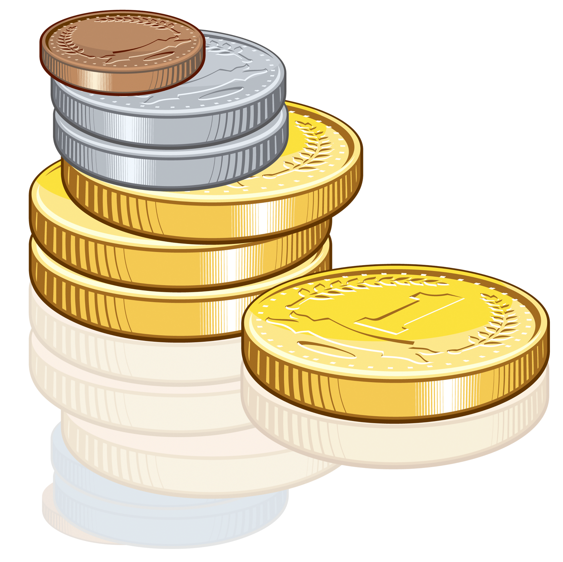 Coins Clipart Image-Coins clipart image-15