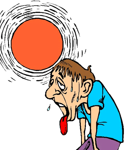 Hot Weather Clip Art