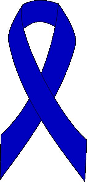 Colon Cancer Ribbon Clipart