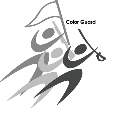 Color Guard Logo Clip Art-color guard logo clip art-12