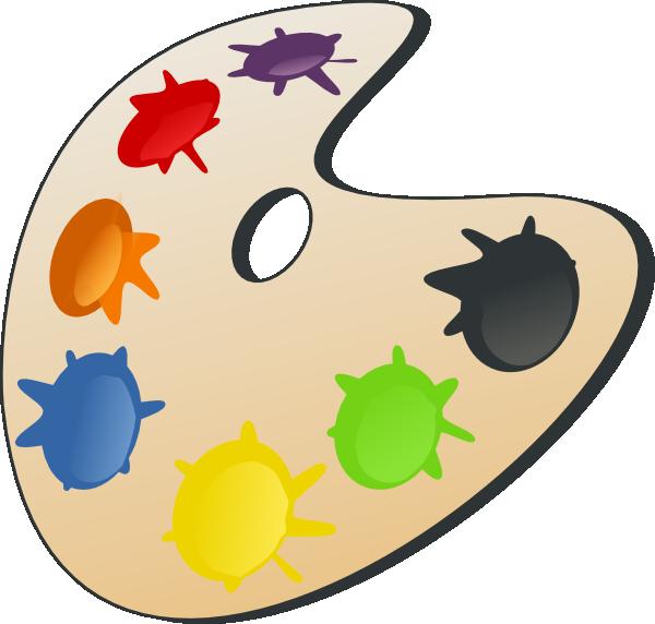 Color Palette Clip Art At Clker Com Vector Clip Art Online Royalty