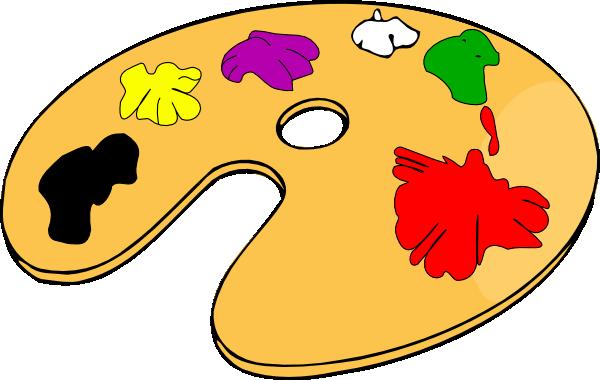 Color Palette Clip Art .-Color Palette clip art .-19