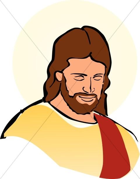 Color Portrait of Jesus-Color Portrait of Jesus-2