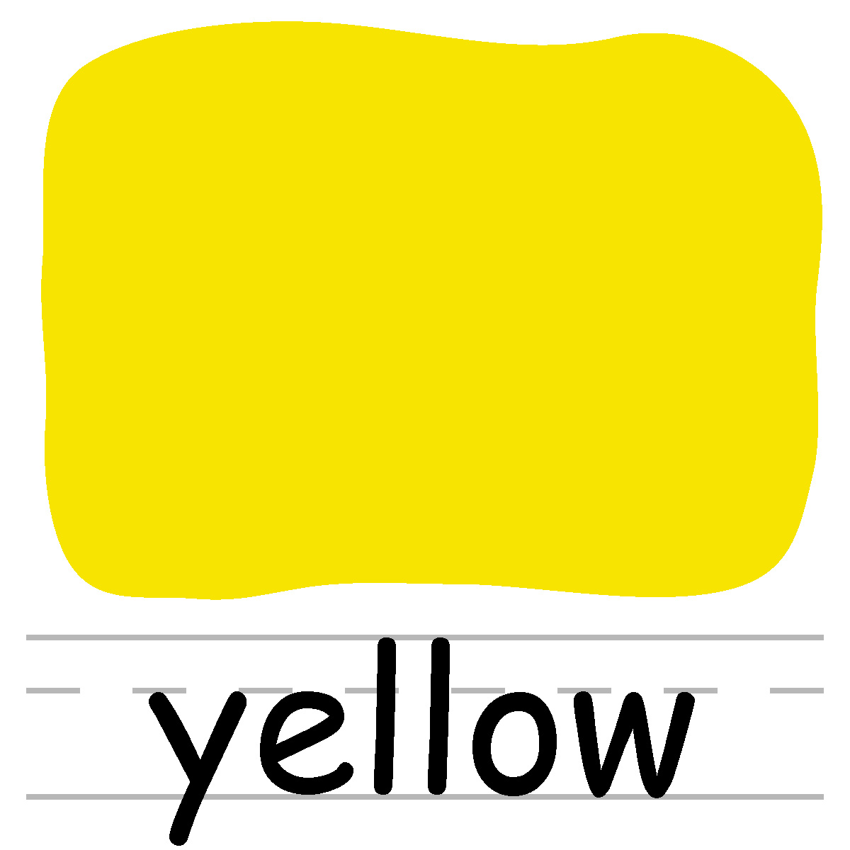 Color Yellow Clipart