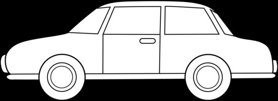 Colorable Car Line Art Free Clip Art u00-Colorable Car Line Art Free Clip Art u0026middot; Black And White .-16