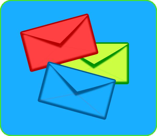 Colored Envelopes Clip Art-Colored Envelopes Clip Art-3