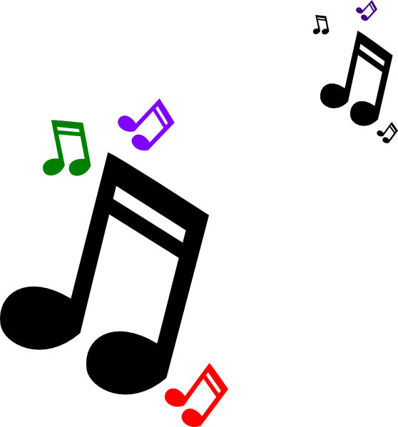 Colorful Music Notes Border-colorful music notes border-6