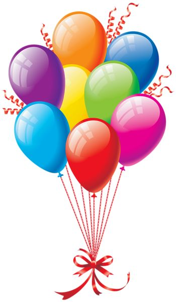 Colorful Balloon Clip Art - Clipart Balloons