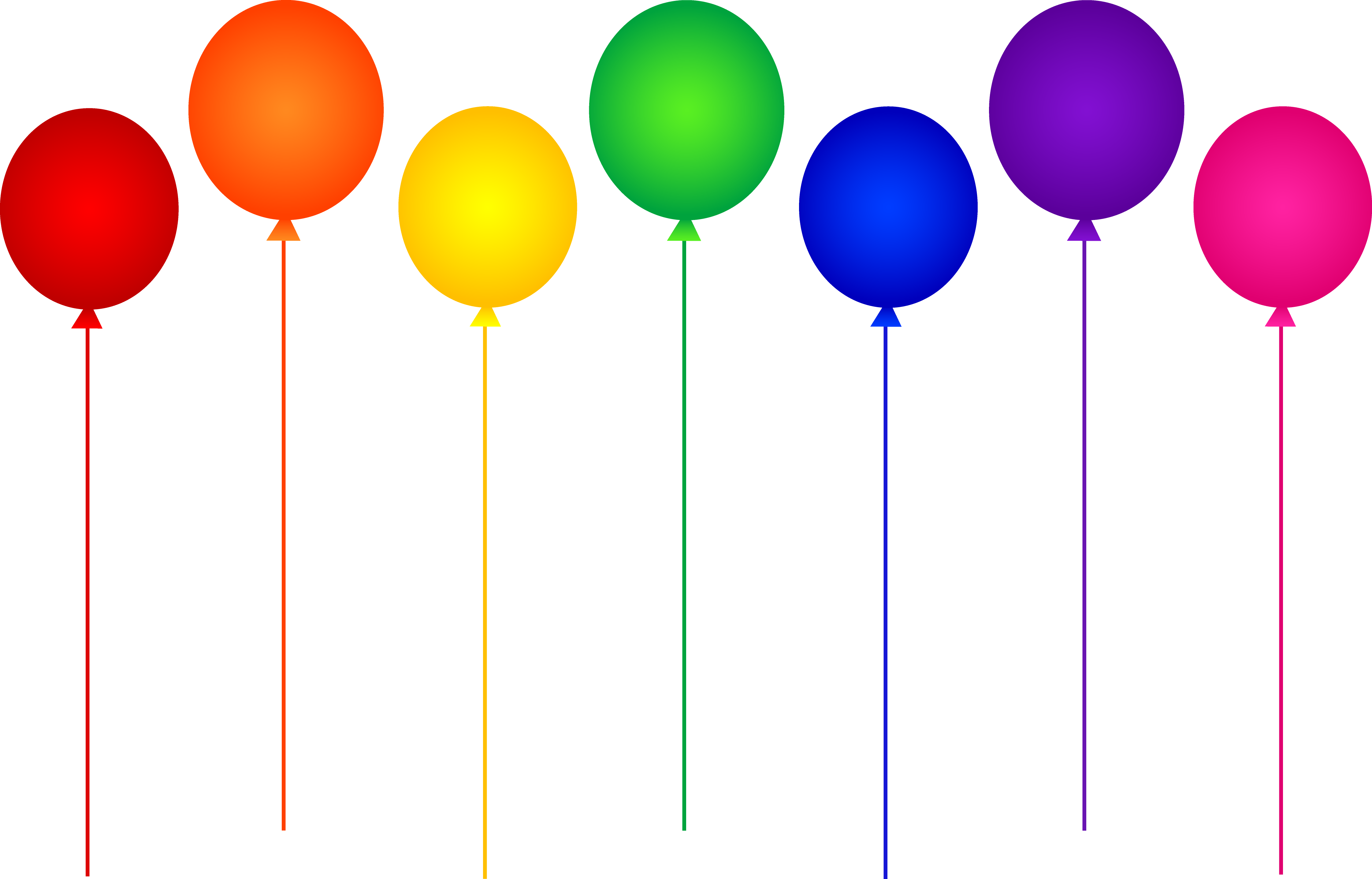 Colorful Balloon Clip Art. party clipart-Colorful Balloon Clip Art. party clipart-4