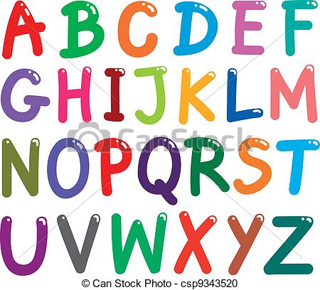 ... Colorful Capital Letters Alphabet - -... Colorful Capital Letters Alphabet - illustration of colorful.-12