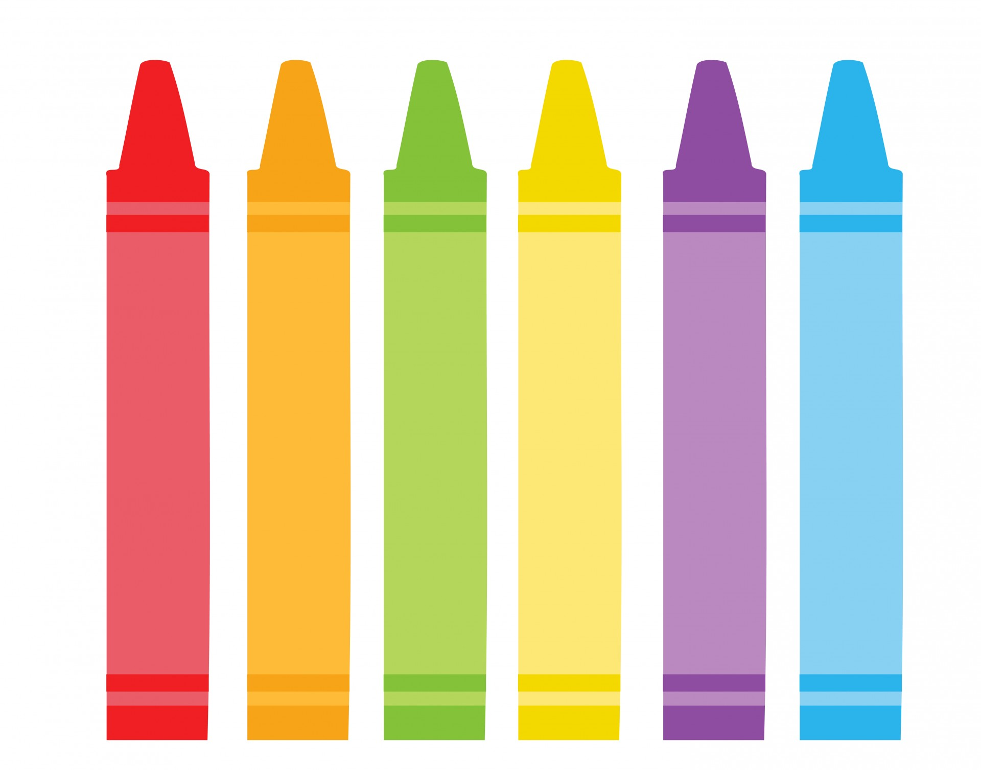 Colorful Crayons Clipart-Colorful Crayons Clipart-3
