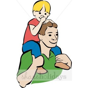 Colorful Father And Son Clipart-Colorful Father and Son Clipart-9