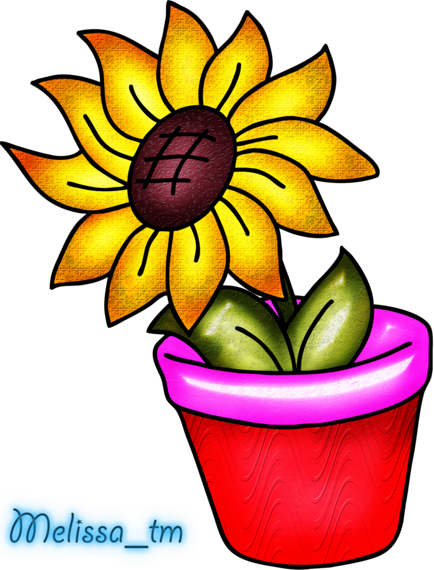 Colorful Flower Vase Clip Art-Colorful Flower Vase Clip Art-11