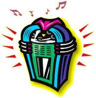 colorful jukebox