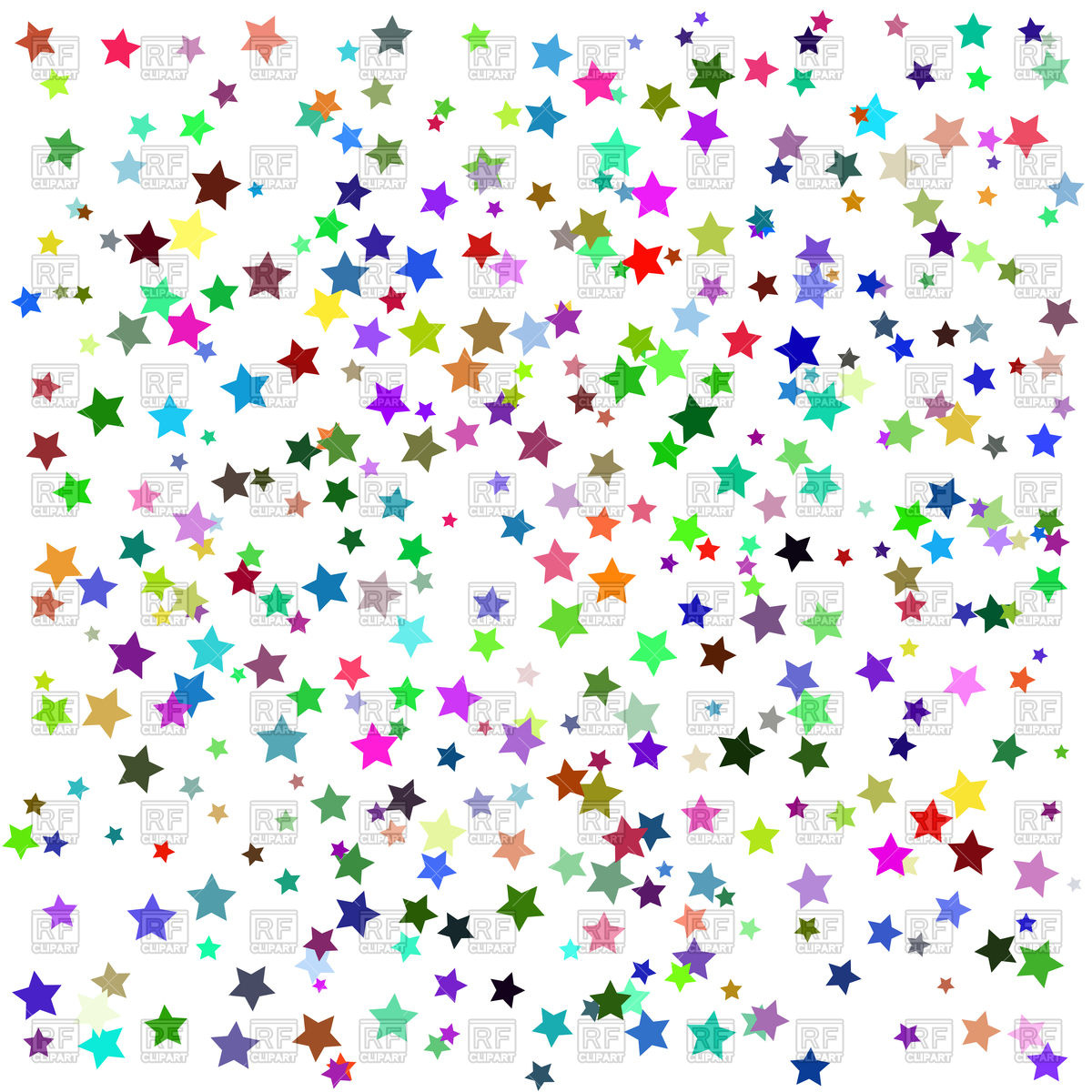 Colorful stars background - Free Clipart Backgrounds