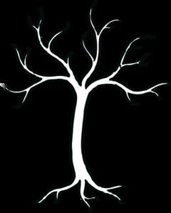 Coloring Bare Tree Clip Art