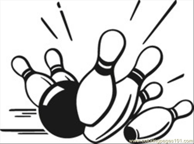 Coloring Pages Bowling Pins Bowling Free-Coloring Pages Bowling Pins Bowling Free Printable Coloring Page-14