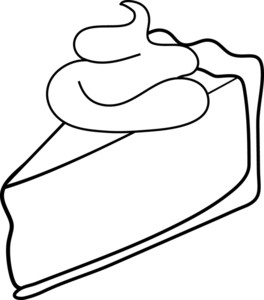Coloring Picture Of Pie Clipart-Coloring picture of pie clipart-4