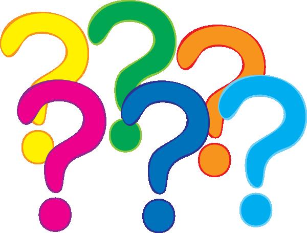 Coloured Question Marks Clip Art At Clker Com Vector Clip Art Online
