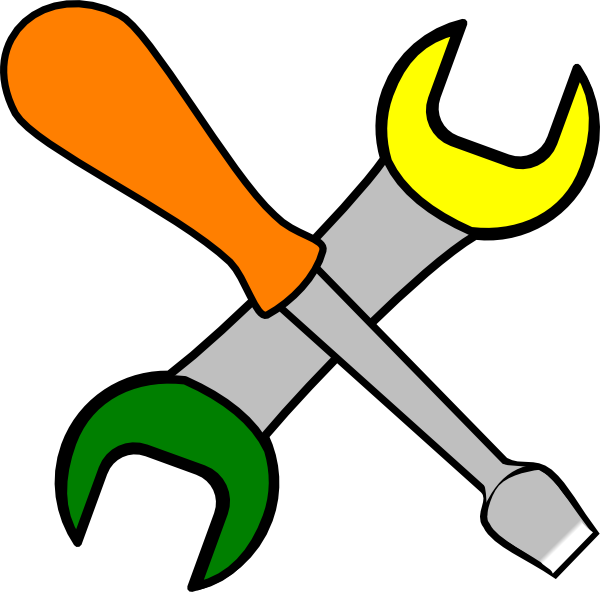 Coloured Tools Clip Art At Clker Com Vector Clip Art Online Royalty