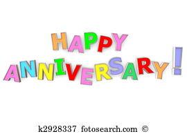 Colourful Happy Anniversary