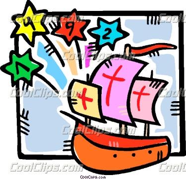 Columbus Clip Art - Christopher Columbus Clip Art