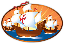 Columbus Day Monday October . - Christopher Columbus Clip Art