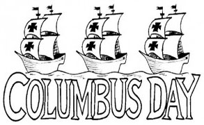 Columbus Day with the Niña, Pinta and S-Columbus Day with the Niña, Pinta and Santa Maria-12