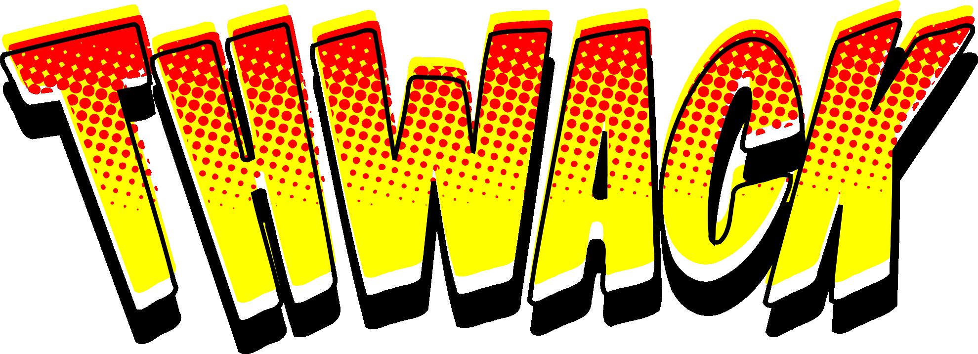 Comic Book Clip Art. Clip Art: Thwack So-Comic Book Clip Art. Clip Art: thwack soundeffect .-4