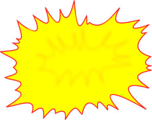 Comic Burst Clip Art
