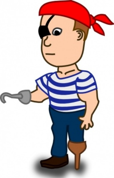 Comic Characters Pirate Clip Art Downloa-Comic Characters Pirate Clip Art Download Free Vector-8